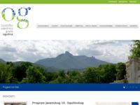 Frontpage screenshot for site: Turistička zajednica Grada Ogulina (http://www.tz-grada-ogulina.hr)