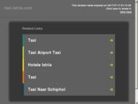 Slika naslovnice sjedišta: Taxi Pula - Istra taxi (http://taxi-istria.com)