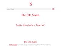 Frontpage screenshot for site: Blic studio (http://www.blicstudio.hr)