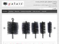 Frontpage screenshot for site: Sajle Palaić (http://www.sajle-palaic.hr/)