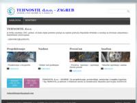 Frontpage screenshot for site: Tehnostil d.o.o. - Zagreb (http://www.tehnostil.hr)