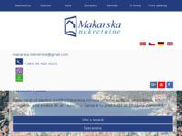 Frontpage screenshot for site: Makarska Nekretnine agencija (http://www.makarskanekretnineagencija.com)