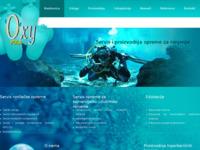 Frontpage screenshot for site: Servis i proizvodnja opreme (http://servis.oxy.hr/)