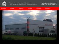 Slika naslovnice sjedišta: Auto Sopkov (http://www.autosopkov.com)