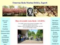 Slika naslovnice sjedišta: OŠ Marina Držića, Zagreb (http://www.os-mdrzica-zg.skole.hr)
