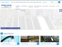Frontpage screenshot for site: Vodne usluge d.o.o. (http://vodneusluge-bj.hr)