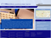 Frontpage screenshot for site: (http://www.dilbaco.hr)