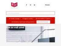 Slika naslovnice sjedišta: Uredski materijal - FIV d.o.o. (http://www.fiv.hr)
