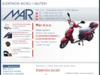 Slika naslovnice sjedišta: Mar d.o.o. (http://mar.hr/)