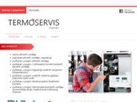 Frontpage screenshot for site: Termoservis - Ovlašteni servis plinskih trošila (http://termoservis.hr)