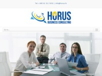Frontpage screenshot for site: Horus konzultanti (http://horus.com.hr)