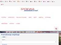 Frontpage screenshot for site: Smokvina accommodation & travel (http://www.smokvina.com)