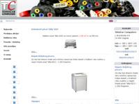 Frontpage screenshot for site: Tehničar Computers (http://www.tehcomp.hr)