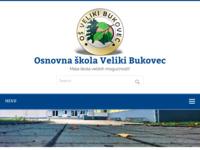 Slika naslovnice sjedišta: OŠ Veliki Bukovec (http://www.os-veliki-bukovec.skole.hr/)