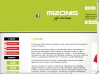 Slika naslovnice sjedišta: Mizonis - suveniri, poslovni pokloni i promotivni artikli (http://www.mizonis.hr)