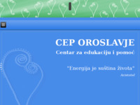 Slika naslovnice sjedišta: CEP Oroslavlje - Centar za edukaciju i pomoć (http://cep-oroslavje.hr)
