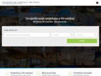 Frontpage screenshot for site: Privatni apartmani u Hrvatskoj (http://www.privatniapartmani.com)