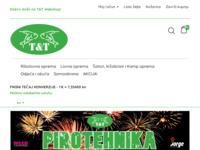 Slika naslovnice sjedišta: Web shop opreme za lov, ribolov, kampiranje i outdoor aktivnosti (http://www.tt-ribolov-lov.hr/)