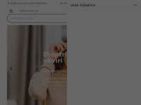 Frontpage screenshot for site: Jo-jo optika d.o.o. (http://jojo-optika.hr)