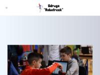 Slika naslovnice sjedišta: Udruga Robofreak (http://www.robofreak.hr)
