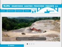 Slika naslovnice sjedišta: Slunj GZPP d.d. (http://www.slunjgzpp.hr)