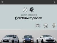Slika naslovnice sjedišta: Auto servis Čačković Prom (http://cackovicprom.hr)