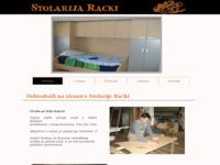 Slika naslovnice sjedišta: Stolarija Rački (http://www.stolarija-racki.hr)