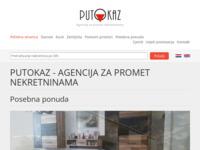 Frontpage screenshot for site: Putokaz nekretnine Split (http://putokaz-nekretnine.hr/)