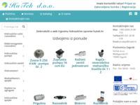Slika naslovnice sjedišta: Hutek d.o.o. - komponente za hidrauliku (http://www.hutek.hr)