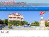 Slika naslovnice sjedišta: Pansion Kardum - Bibinje (http://www.pansion-kardum.hr)