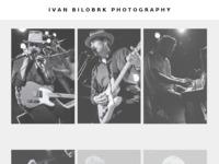 Frontpage screenshot for site: Ivan Bilobrk photography (http://ivan-bilobrk.from.hr)