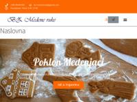 Frontpage screenshot for site: BZ Medene ruke (http://bzmedeneruke.hr)