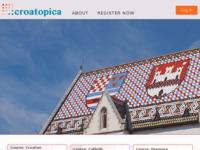 Frontpage screenshot for site: Croatopica - Nauči više o Hrvatskoj (http://croatopica.net)