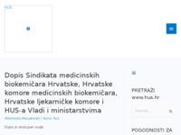 Slika naslovnice sjedišta: Hrvatska udruga sindkata (HUS) (http://www.hus.hr)
