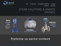 Frontpage screenshot for site: Exeo projekt d.o.o. (http://www.exeo-projekt.hr)