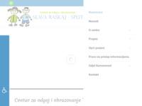 Slika naslovnice sjedišta: Centar za odgoj i obrazovanje Slava Raškaj, Split (http://www.centarslavaraskaj.hr)