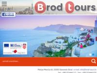 Frontpage screenshot for site: Turistička agencija Brod Tours - Slavonski Brod (http://www.brod-tours.hr)