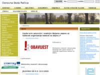 Slika naslovnice sjedišta: Osnovna škola Rečica (http://os-recica.skole.hr/)