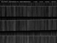 Slika naslovnice sjedišta: Osa Print (http://osaprint.hr/)
