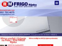 Frontpage screenshot for site: R-M FRIGO - Rijeka (http://rmfrigo.hr)