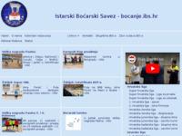 Slika naslovnice sjedišta: Istarski boćarski savez (http://www.bocanje-ibs.hr)