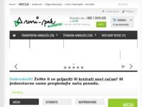 Slika naslovnice sjedišta: Uni-pak d.o.o. - poduzeće za izradu privjesaka od mikrogume (http://www.uni-pak.hr/)