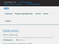 Slika naslovnice sjedišta: Učilište Meštar Split (http://www.uciliste-mestar.hr)