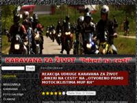 Slika naslovnice sjedišta: Karavana Za Zivot (http://www.karavanazazivot.com)