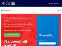 Slika naslovnice sjedišta: Aton usluge d.o.o. Zagreb (http://atonusluge.eu)