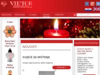 Slika naslovnice sjedišta: Viktor - obrt za proizvodnju i prodaju medičarskih i svjećarskih proizvoda (http://www.viktor-svijece.hr)
