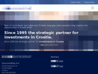 Frontpage screenshot for site: (http://www.euroconsulting.hr)
