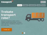 Slika naslovnice sjedišta: Domaći i inozemni transport robe i tereta (http://www.transporti.co)