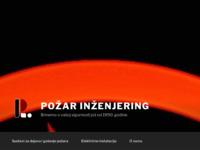 Slika naslovnice sjedišta: Požar inženjering (http://www.pozar.hr)