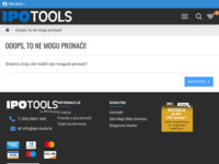 Frontpage screenshot for site: Ipo Tools - vrste varenja (http://www.ipo-tools.hr/tig-zavarivanje)